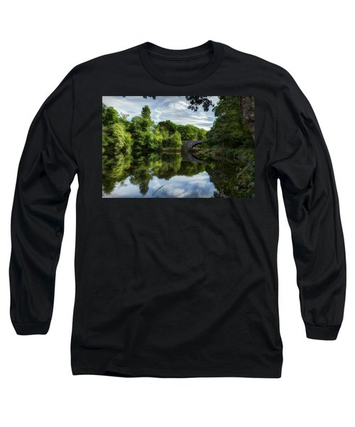 Snowdonia Summer On The River Long Sleeve T-Shirt