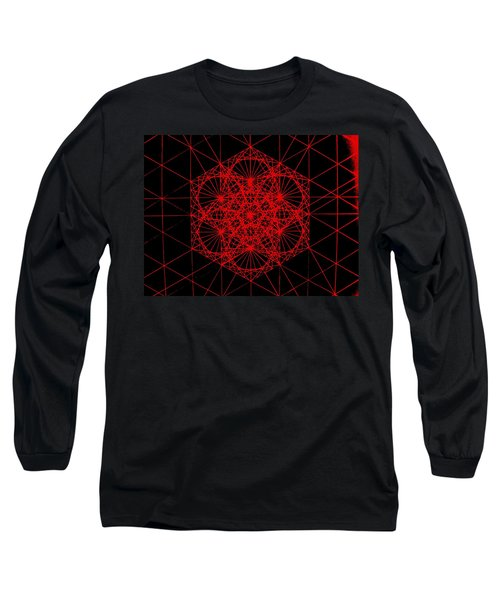 Snowflake Shape Comes From Frequency And Mass Long Sleeve T-Shirt