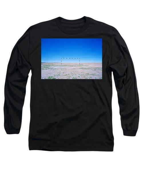 Field Of Dreams Long Sleeve T-Shirt by Shaun Higson