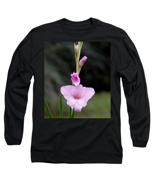 Soft Pink Glad Long Sleeve T-Shirt