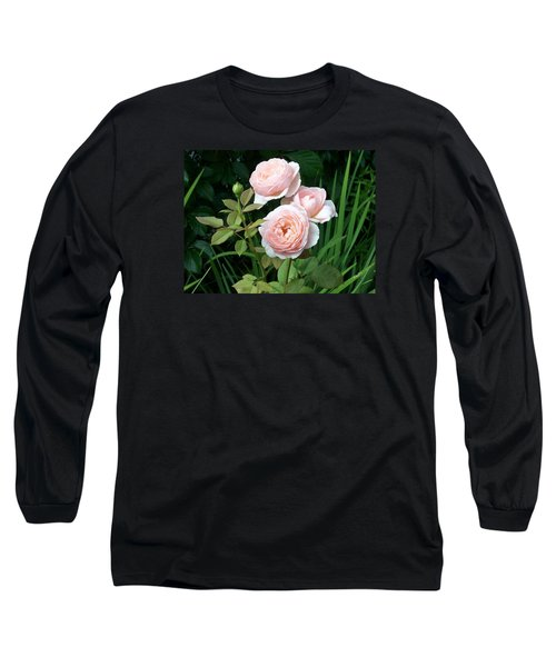 Soft Trio Long Sleeve T-Shirt by Catherine Gagne
