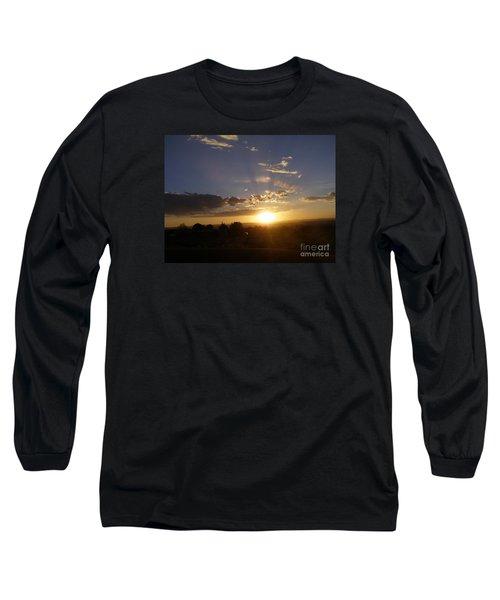 Solar Eclipse Sunset Long Sleeve T-Shirt