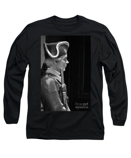 Soldier Statue Boston Ma Long Sleeve T-Shirt