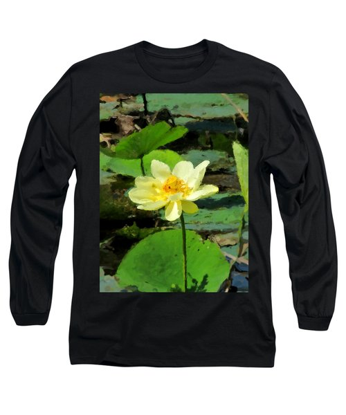 Long Sleeve T-Shirt featuring the photograph Solitude by John Freidenberg