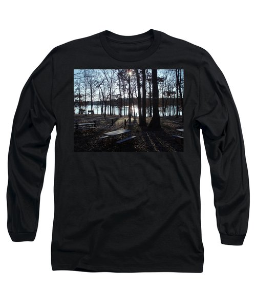 Long Sleeve T-Shirt featuring the photograph Solitude by Fortunate Findings Shirley Dickerson