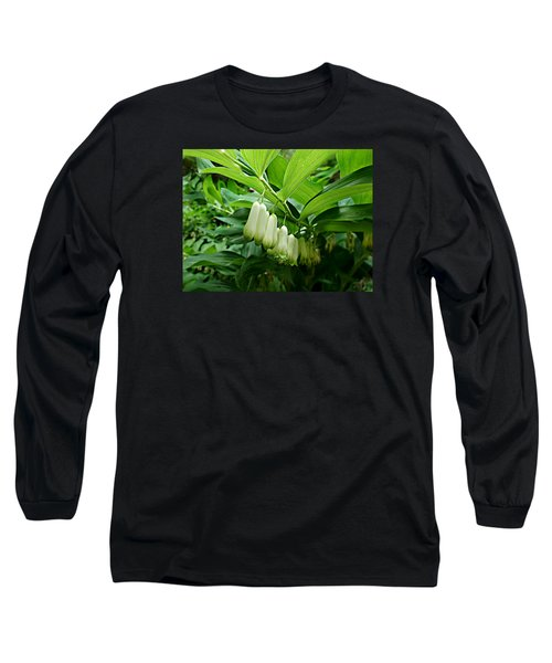 Wild Solomon's Seal Long Sleeve T-Shirt by William Tanneberger