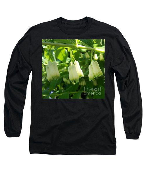 Long Sleeve T-Shirt featuring the photograph Solomon's Seal by Jolanta Anna Karolska