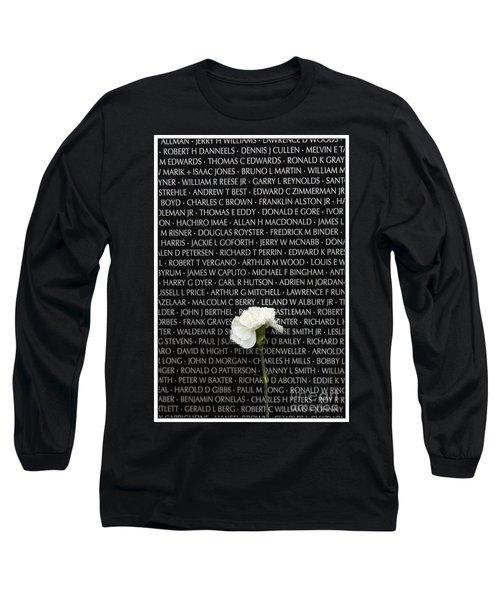 Some Gave All - Vietnam Veterans Memorial Long Sleeve T-Shirt