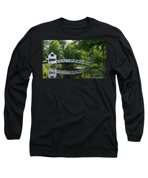 Somesville Bridge Long Sleeve T-Shirt