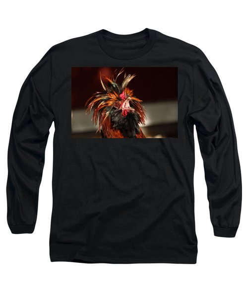 Something To Crow About Long Sleeve T-Shirt by Lynn Sprowl