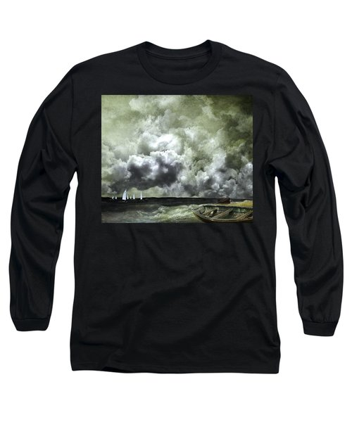 Sometimes Your Luck Runs Out Long Sleeve T-Shirt by Jeff Burgess