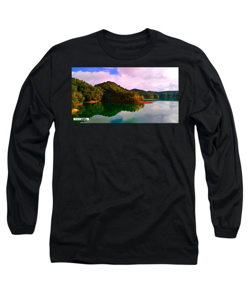 North Holston Lake Mountains Long Sleeve T-Shirt