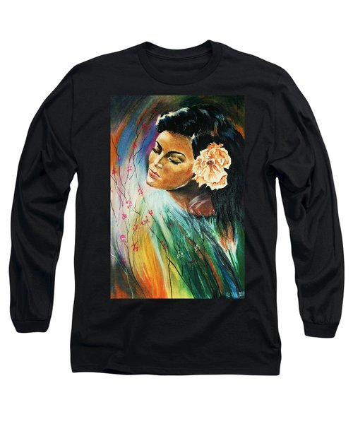 South Sea Flower Long Sleeve T-Shirt