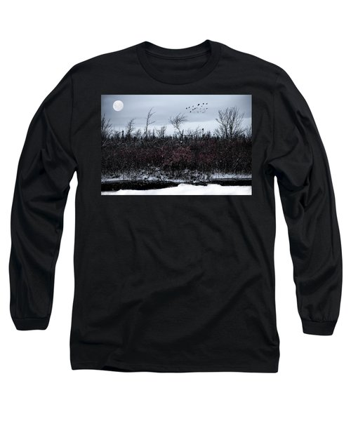 South To The Moon Long Sleeve T-Shirt