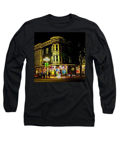 Southern California Streets At Sunset Long Sleeve T-Shirt
