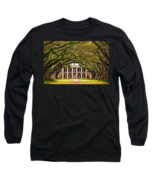 Southern Class Painted Long Sleeve T-Shirt by Steve Harrington