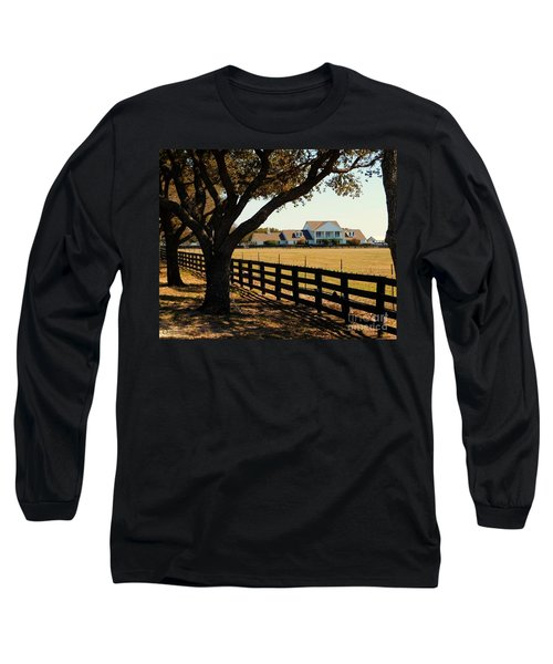 Southfork Ranch - Across The Pasture Long Sleeve T-Shirt