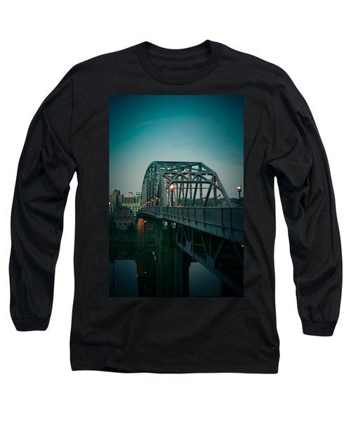 Southside Bridge  Long Sleeve T-Shirt by Shane Holsclaw