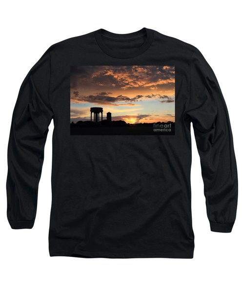 Water Towers On Southwold Common Long Sleeve T-Shirt