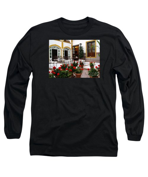 Long Sleeve T-Shirt featuring the photograph Spain by Haleh Mahbod