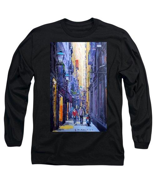 Spain Series 10 Barcelona Long Sleeve T-Shirt