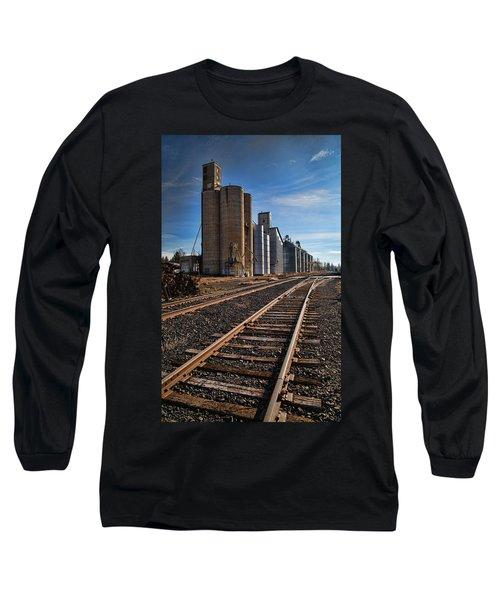 Spangle Grain Elevator Color Long Sleeve T-Shirt