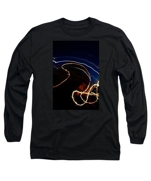Sparkler Long Sleeve T-Shirt by Joel Loftus