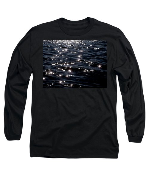 Sparkling Waters At Midnight Long Sleeve T-Shirt