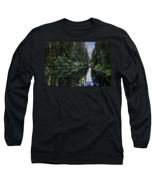 Spawning A River Long Sleeve T-Shirt by Belinda Greb