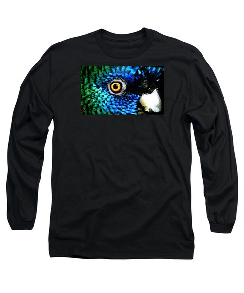 Long Sleeve T-Shirt featuring the painting Speaking Eye  by Colette V Hera  Guggenheim