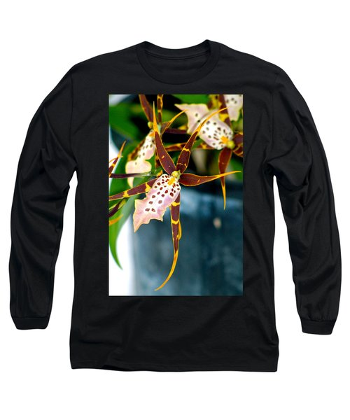 Spider Orchid Long Sleeve T-Shirt