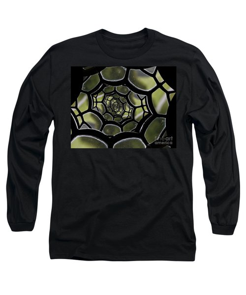 Long Sleeve T-Shirt featuring the photograph Spider's Web. by Clare Bambers