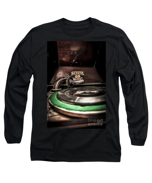 Spin That Record Long Sleeve T-Shirt by Darcy Michaelchuk