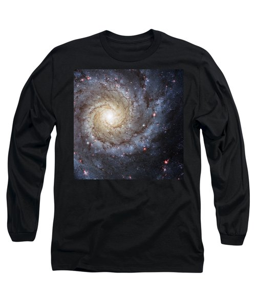 Spiral Galaxy M74 Long Sleeve T-Shirt