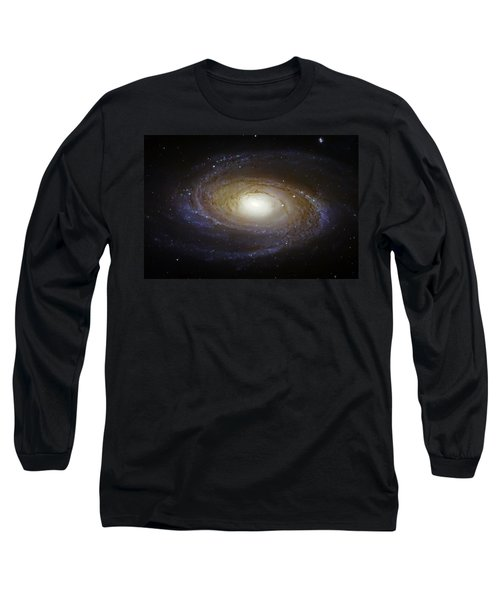 Spiral Galaxy M81 Long Sleeve T-Shirt by Jennifer Rondinelli Reilly - Fine Art Photography