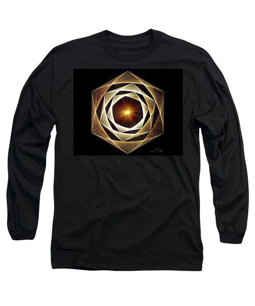 Spiral Scalar Long Sleeve T-Shirt