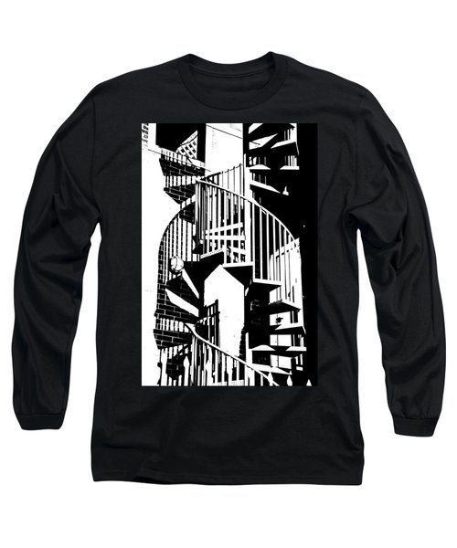Spiral Stairs Long Sleeve T-Shirt