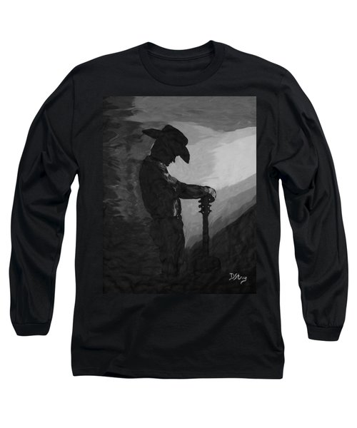 Spirit Of A Cowboy Long Sleeve T-Shirt