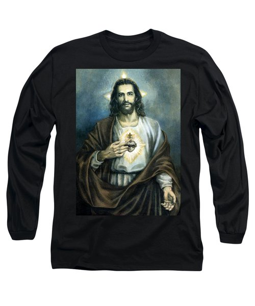 Spiritual Beauty Long Sleeve T-Shirt by Munir Alawi
