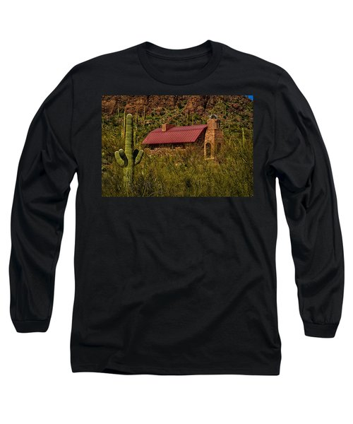 Long Sleeve T-Shirt featuring the photograph Spiritual Oasis by Mark Myhaver