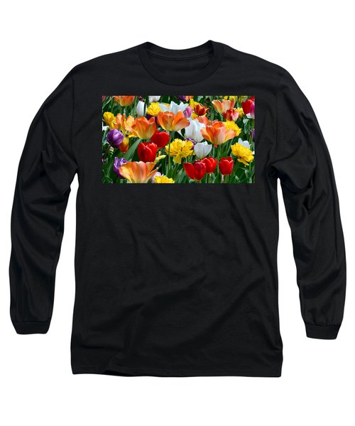 Splash Of Spring Long Sleeve T-Shirt