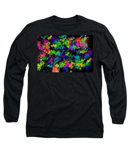 Splatter Long Sleeve T-Shirt by Mark Blauhoefer