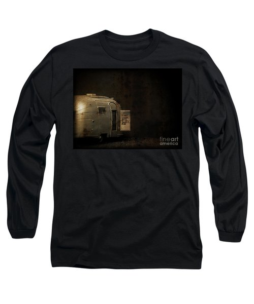 Spooky Airstream Campsite Long Sleeve T-Shirt