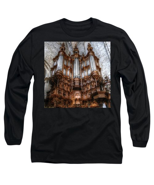 Spooky Organ Long Sleeve T-Shirt