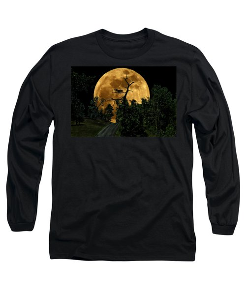 Spooky Road Long Sleeve T-Shirt