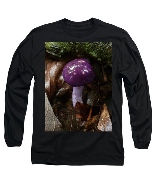 Spotted Cortinarius Mushroom Long Sleeve T-Shirt