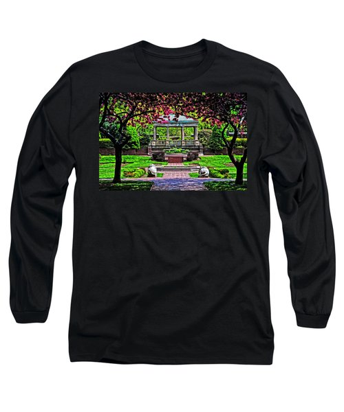 Spring At Lynch Park Long Sleeve T-Shirt by Mike Martin