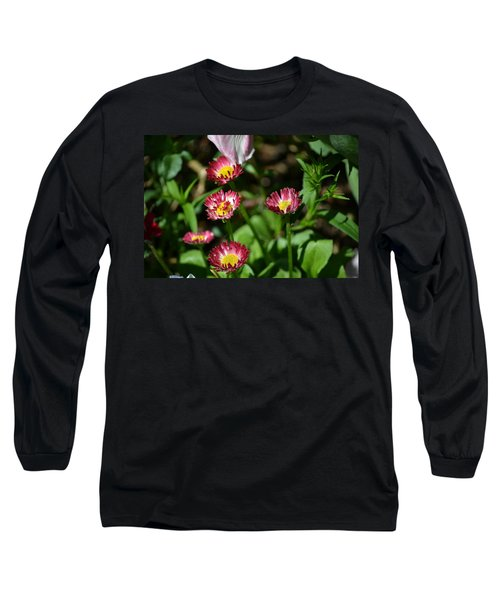 Long Sleeve T-Shirt featuring the photograph Spring Blooms by Tara Potts