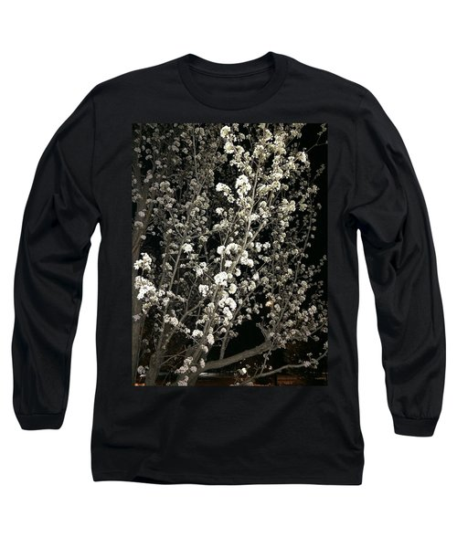 Spring Blossoms Glowing Long Sleeve T-Shirt