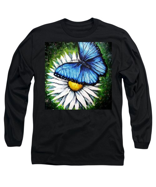 Long Sleeve T-Shirt featuring the painting Spring Has Sprung by Shana Rowe Jackson